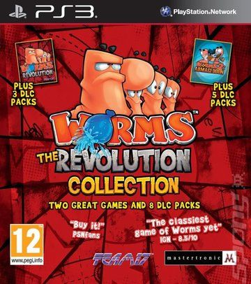 [PS3] Worms: The Revolution Collection - SUB ITA