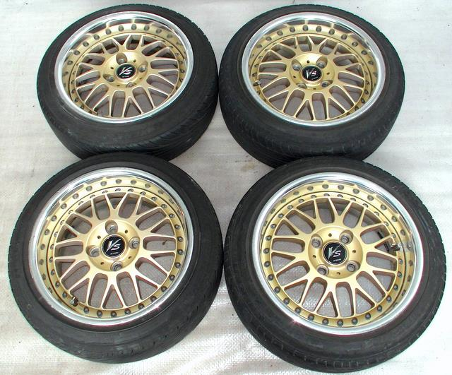 WORK VS-XX 14 6.5J +26 Alloy RIMS Wheels 4x100 RX4 CIVIC 626 MX5