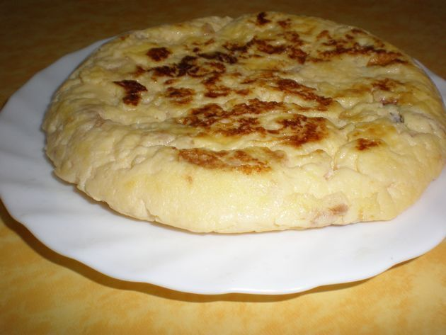 tortilla con quesitos