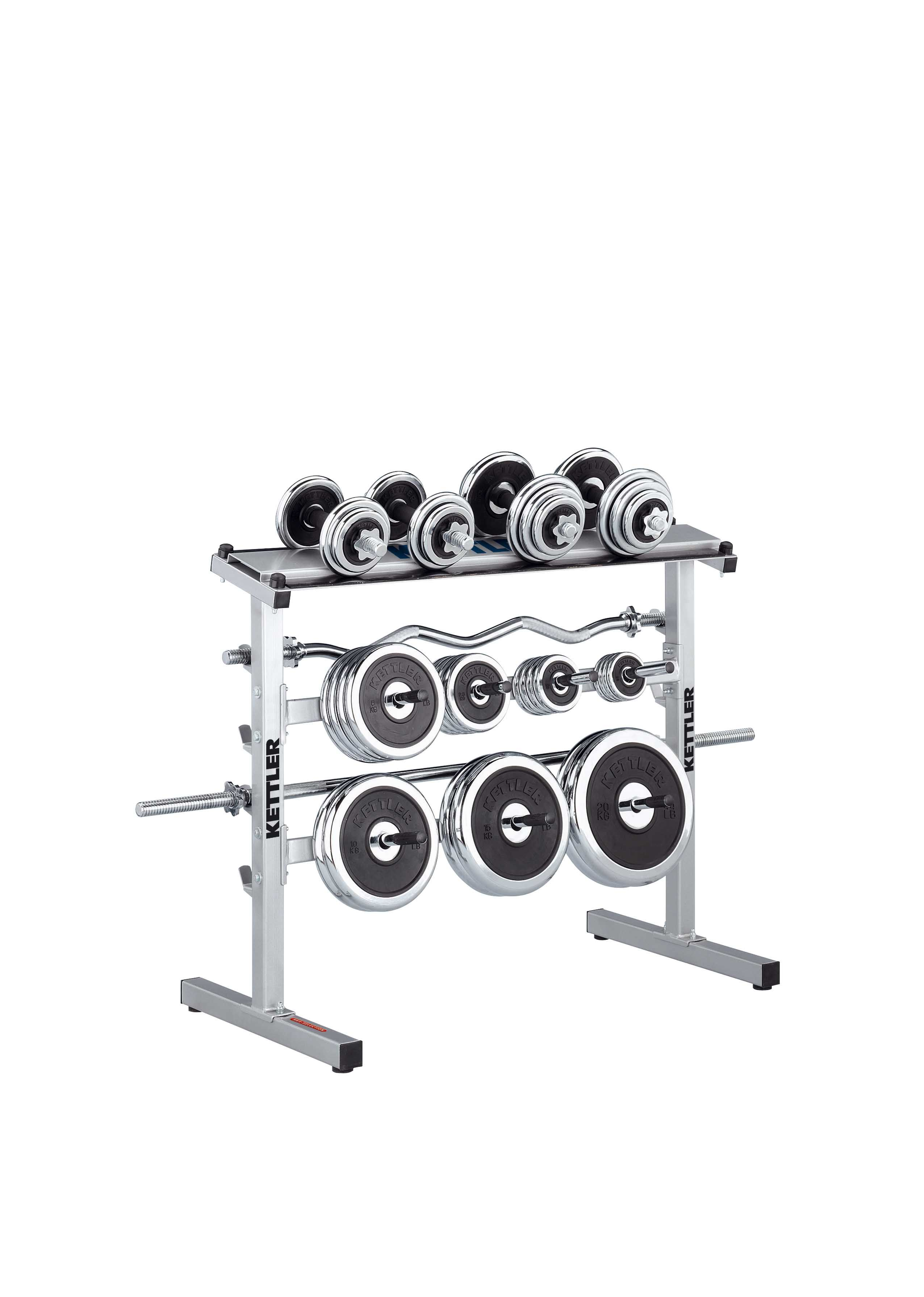 Porta pesi e porta bilanciere kettler dischi manubri e - Porta bilanciere ...