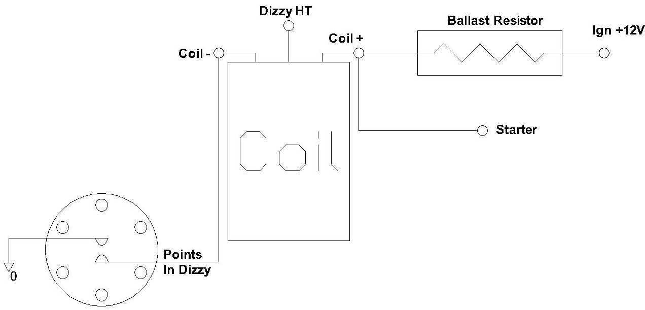 pointsdizzycoil converting to a bosch ignition module (reluctor dizzys) page 2 bosch gt40 coil wiring diagram at gsmx.co