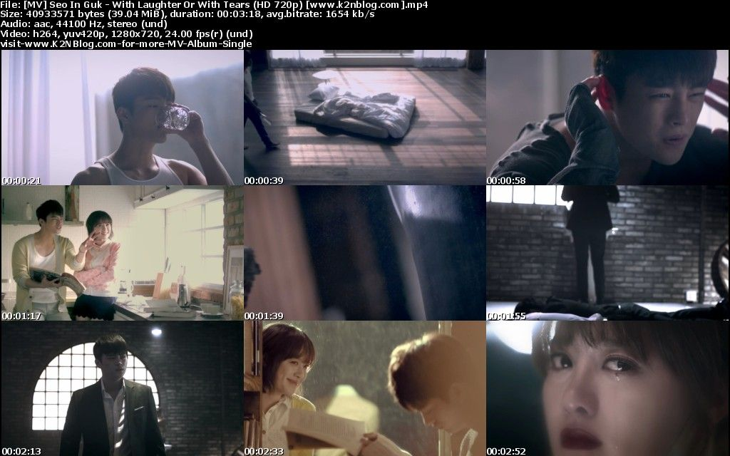 [MV] Seo In Guk - With Laughter Or With Tears [HD 720p Youtube]