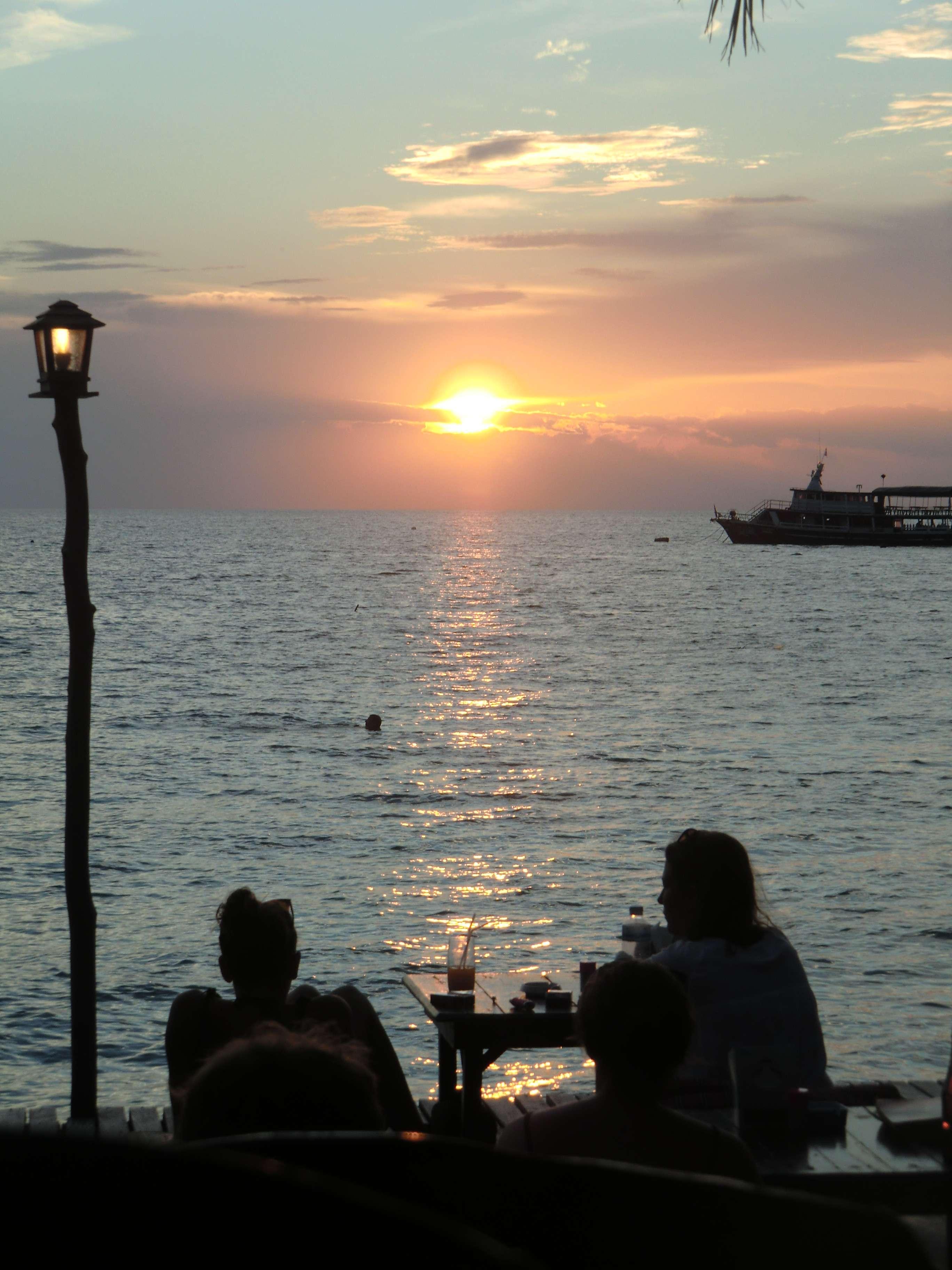 Sonnenuntergang für Romantiker