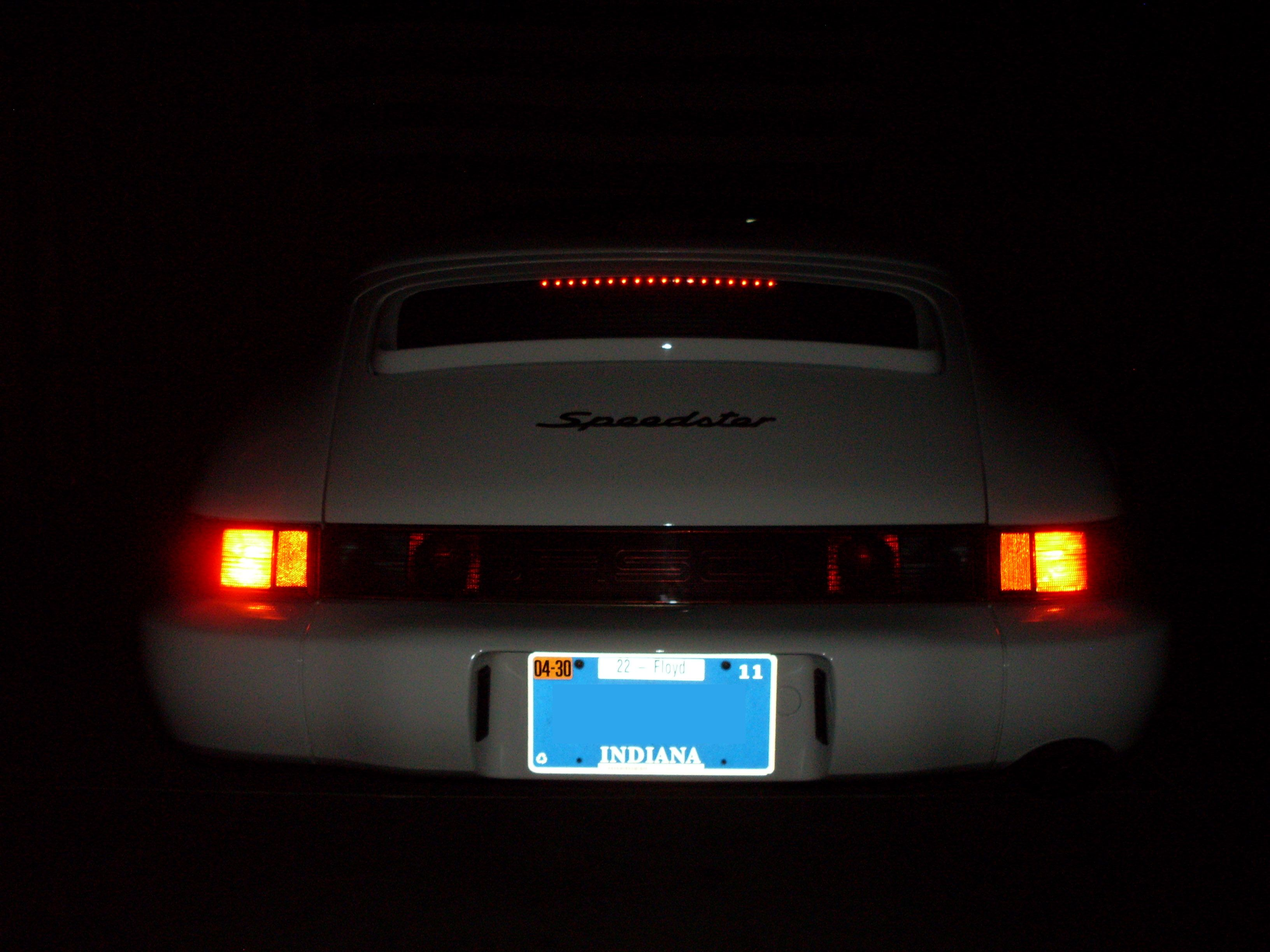 Cabriolet Third Brake Light Et Removal Yes Or No And