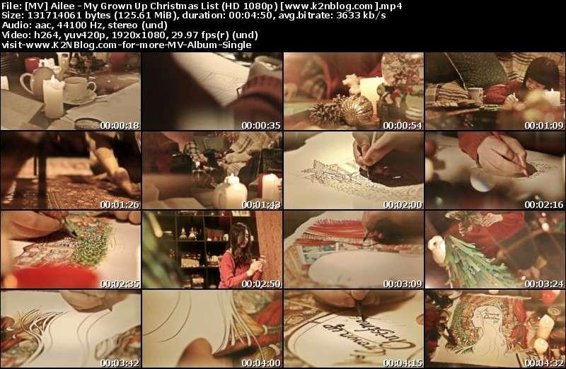 [MV] Ailee - My Grown Up Christmas List (Christmas Wish) [HD 1080p Youtube]