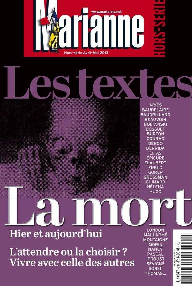 Marianne Hors-Série Les Textes 2 Avril Mai 2013